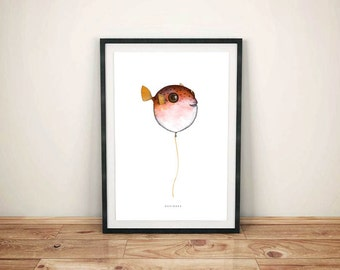Limited Edition - fish ball in COLOR