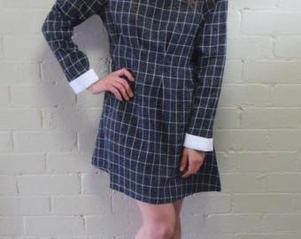 Sunday School Check Dress