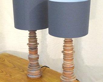 Pair of Cruet Lamps