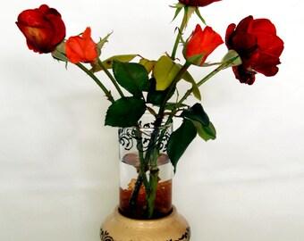 Vaso doppio porta fiori
