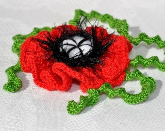 Hand-crocheted brooch handmade flower brooch fashion accessories for women