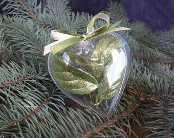 Christmas tree ornaments Heart Christmas decoration Christmas ball Christmas gift