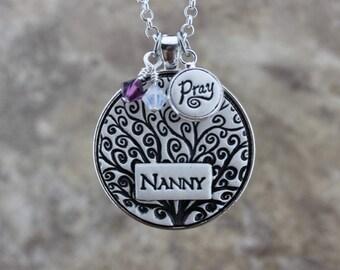 Nanny Handmade Pottery Necklace