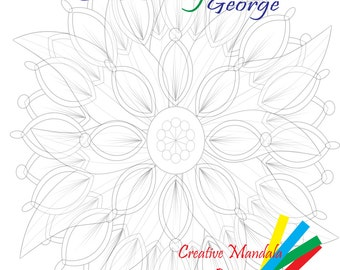 Creative Coloring with George Vol 2