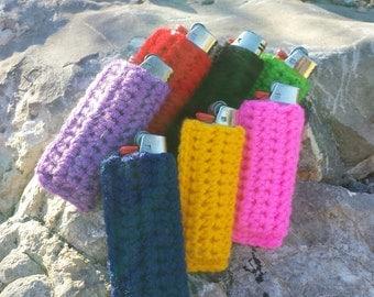 Crochet Lighter Case 2 pack.