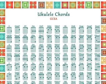 ukulele chords – Etsy
