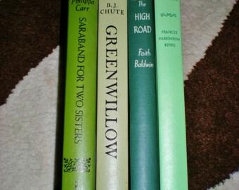 Vintage Green Home Decor Novels