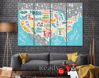 United States Map Etsy - United states map picture