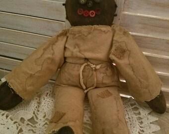 Primitive Grunged Doll