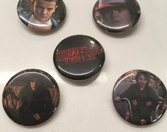 Stranger Things Pin Set