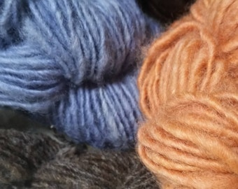 Single-Ply DK Handspun Wool Yarn (Lot 85)
