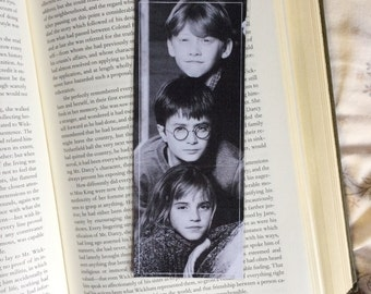 Harry Potter Hermione Ron Character Bookmark