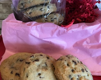 Classic Triple Chocolate Chip Cookies