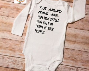 Funny Baby Onesie, Baby Shower Gift, Funny Baby Onesies, Funny Onesie, Funny Baby Gift, Baby Bodysuit, Funny Baby Clothes