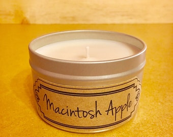 Best Soy Candle / Best Soy Candles / Macintosh Apple / Candle / Soy Candles / Candles / Housewarming Gift / Home Decor / Birthday Gift