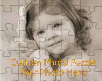Custom Photo Puzzle, Customized Puzzle, 30 Piece Puzzle, Small Puzzle, Small Custom Puzzle, Photo Puzzle, Picture Puzzle, Custom Picture Puz