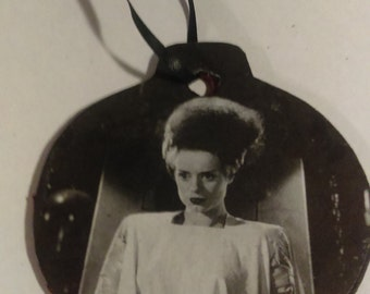 Bride of Frankenstein Holiday Ornament