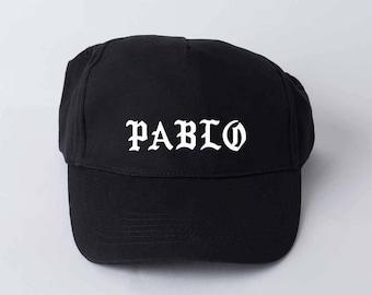 Yeezus Pablo cap Unisex cap Graphic cap I fell like Pablo Kenye 2020 Minimalist cap Yeezy Yezus cap Yeezy Printed cap Life of Pablo GOC008