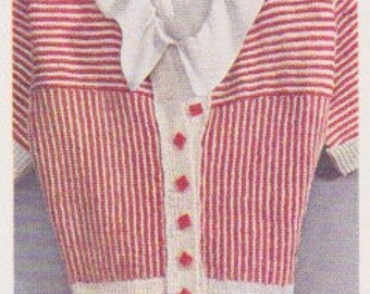 1935 A Pin-Striped Jumper