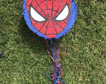 Spiderman handmade Pinata