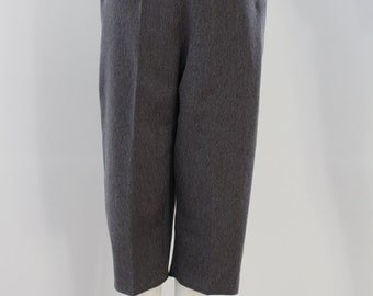 Plain 3/4 length Trousers (Gun Metal Grey)