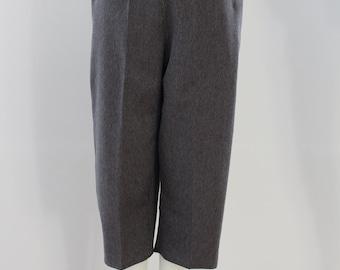 Plain 3/4 length Trousers (Gun Metal Grey)