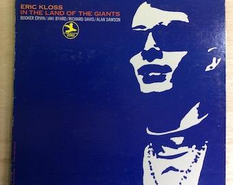 Jazz LP Eric Kloss In The Land Of Giants Vintage Prestige Records Stereo Vinyl
