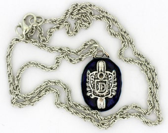 Damon Salvatore's Signet Necklace or Keychain Vampire Diaries