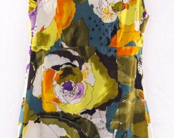 1960s Ui-Maikai Floral Mod Dress