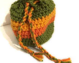Crocheted bag, crochet bag