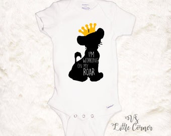 Lion King Shirt Baby boy Simba disney shirt 1st birthday shirt boys birthday shirt onesie toddler shirt birthday Disney first birthday