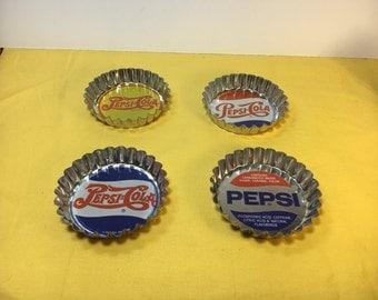 Vintage Coasters, Pepsi Coasters, Soda Memorabilia, Decorative Coasters, Blue & Red Coasters, Pepsi Cola Coasters,