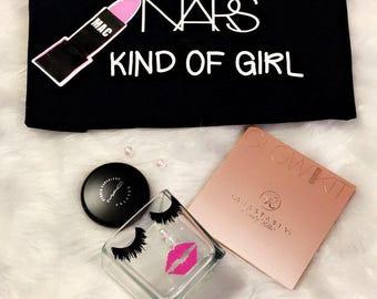 Makeup Lover TShirt , Lipstick Shirt, Graphic Tee