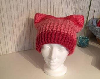 Pink Kitty Kat Hat