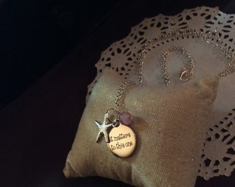 It matters to this one necklace