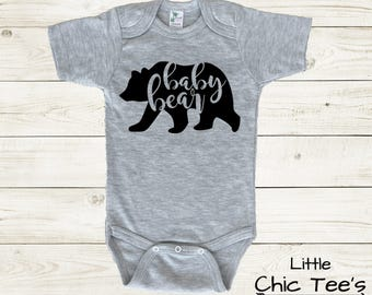 Baby Boy, Cute Baby Boy Clothes, baby bear onesie, baby bear shirts, baby bear bodysuit, trendy baby boy clothes, newborn baby boy clothes