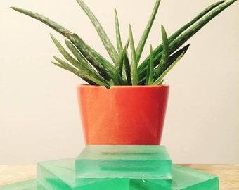 Organic Homemade Peppermint Aloe Oil Hand Soap