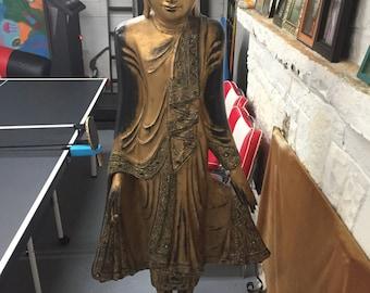 Antique Buddha Sculpture