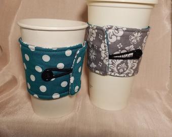 Reversible cup cozy