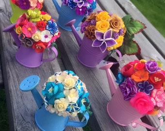Mini floral watering can