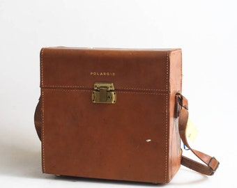 Polaroid Land Camera Leather Case