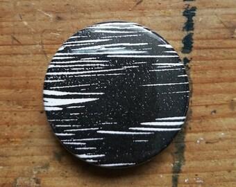 Sky #2 - Original print button badge