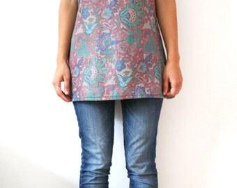 Flower print tunic