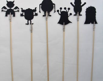 Monster Shadow Puppets