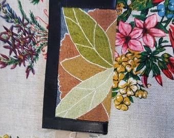 Vintage embroidered wallet