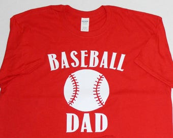 Baseball Dad tshirt, baseball