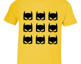Batman Face Youth Shirt