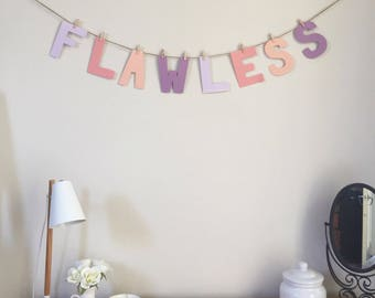 Flawless - Example Bunting