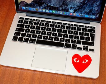 CDG Sticker - Comme des Garçons Decal - Macbook Decal - Car Decal