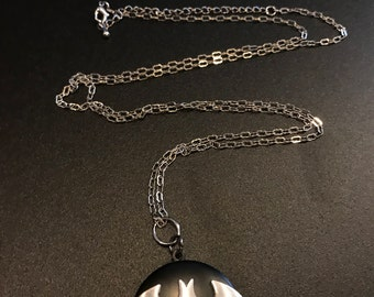 Batman Pendant Locket Necklace